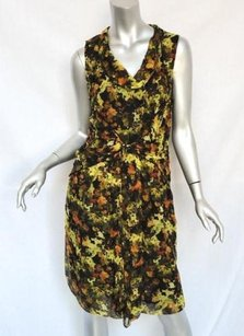 Richard Chai short dress Multi-Color Painterly Silk on Tradesy