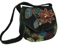 Rising Tide 100 Felted Wool Cross Body Bag