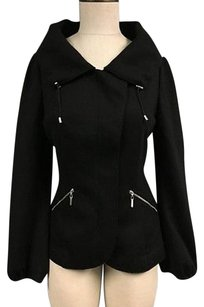 Rivamonti Wool Black Jacket