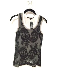 Robert Rodriguez Lace Layered Top