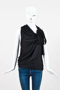 Robert Rodriguez Crepe Top Black