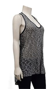 Robert Rodriguez Tweed Faux Leather Trim 180693pk Tunic