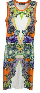 Roberto Cavalli short dress multi color on Tradesy