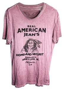 Robin's Jean Indian Embellished T Shirt Purple
