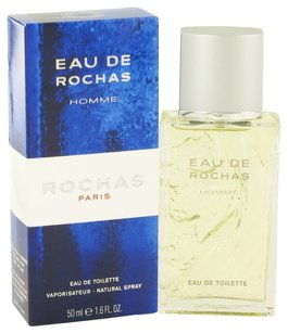 Rochas EAU de ROCHAS HOMME by ROCHAS EDT Spray for Men ~ 1.7 oz / 50 ml