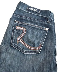 Rock & Republic Capri/Cropped Denim-Dark Rinse