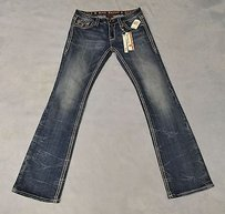 Rock Revival Very Thick Boot Cut Jeans