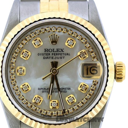 Preload https://item1.tradesy.com/images/rolex-31mm-midsize-datejust-gold-ss-with-box-and-appraisal-watch-23336630-0-1.jpg?width=440&height=440