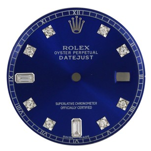 Rolex Custom Rolex Blue Diamond Dial for 36mm Watch - DIAL ONLY
