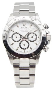 Rolex Rolex Daytona Cosmograph Stainless Steel White Dial Men's Watch