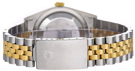 Rolex Rolex Datejust 18K Yellow Gold and Stainless Steel Champagne Dial Men's Watch