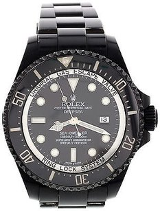 Rolex Mens Rolex Deepsea Sea-dweller Blackout Pvd 116660