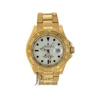 Rolex Mens Rolex Yacht Master Watch - Yellow Gold - 11628
