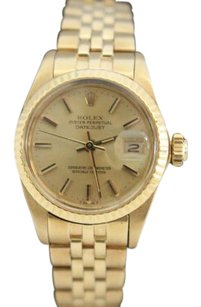 Rolex Rolex 6917 18K Yellow Gold Watch Datejust Automatic Ladies
