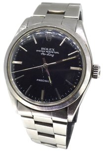 Rolex Rolex Air-King 14000 Black Dial Stainless Steel Watch