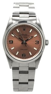 Rolex Rolex Air-King Stainless Steel Copper Arabic Dial Watch