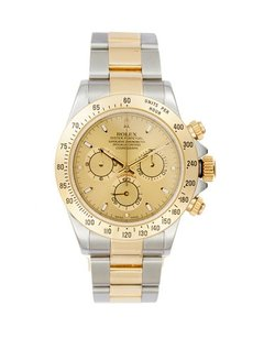 Rolex Rolex Cosmograph Daytona 18K Yellow Gold and Stainless Steel Men's Watch