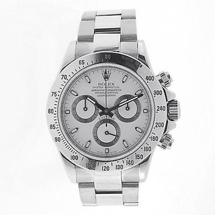 Rolex Rolex Cosmograph Daytona Stainless Steel- White Dial - 116520