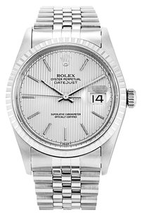 Rolex ROLEX DATEJUST 16220 STAINLESS STEEL MEN'S WATCH