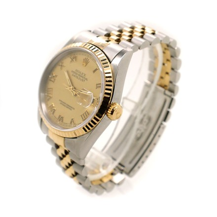 Rolex Rolex DateJust 18K Yellow Gold and Stainless Steel Men's Watch
