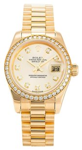 Rolex ROLEX DATEJUST 179138 ORIGINAL DIAMOND LADIES WATCH