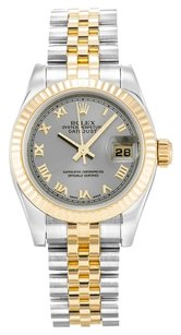 Rolex ROLEX DATEJUST 179173 STAINLESS STEEL AND 18K GOLD LADIES WATCH