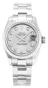 Rolex ROLEX DATEJUST 179174 CUSTOM DIAMOND DIAL LADIES WATCH