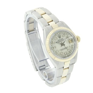 Rolex Rolex Datejust 69173 String White MOP Oyster Band Two Tone Watch