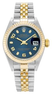 Rolex ROLEX DATEJUST 79173 18K YELLOW GOLD AND STAINLESS STEEL LADIES WATCH