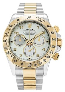 Rolex ROLEX DAYTONA 116523 18K YELLOW GOLD AND STAINLESS STEEL MEN'S WATCH