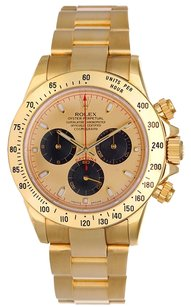 Rolex Rolex Daytona Automatic Chronograph Paul Newman Champagne Dial 18k Yellow Gold Mens Watch 116528