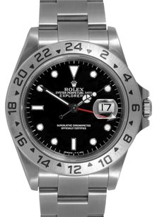 Rolex Rolex Explorer II Stainless Steel Black Dial Men's Watch
