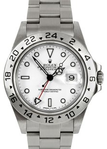 Rolex Rolex Explorer II Stainless Steel White Dial Men's Watch