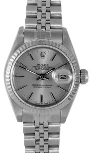 Rolex Rolex Datejust Stainless Steel Silver Dial Ladies Watch