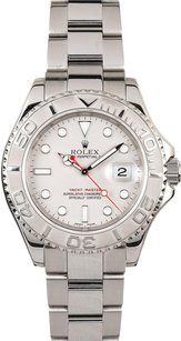 Rolex Rolex Men's Stainless Steel & Platinum YachtMaster Watch 16622