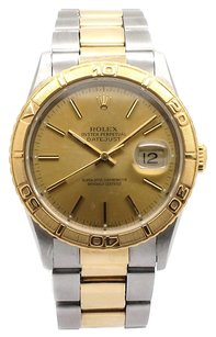 Rolex Rolex Datejust 16263 Turn-O-Graph Steel and 18K Yellow Gold Men's Watch