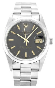 Rolex ROLEX OYSTER PERPETUAL DATE 15200 STAINLESS STEEL UNISEX WATCH