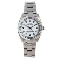 Rolex Rolex Oyster Perpetual Midsize 177200 Stainless Steel 31mm White Dial