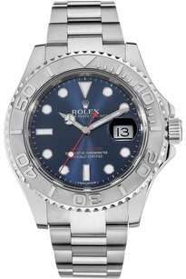 Rolex Rolex Platinum and Stainless Steel Yachtmaster Automatic Watch 116622