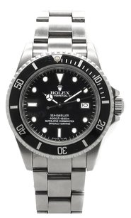 Rolex Rolex Sea-Dweller 16600 Stainless Steel Black Dial Men's Watch