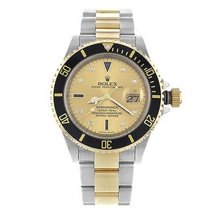 Rolex Rolex Submariner 11613 Steel 18k Yellow Gold Automatic Mens Watch