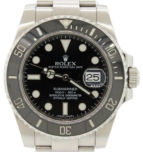 Rolex Rolex Submariner Stainless Steel 116610 Black Ceramic 40mm Dive Watch Complete with Original Box & Papers