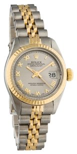Rolex ROLEX DATEJUST STAINLESS STEEL AND YELLOW GOLD LADIES WATCH