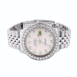 Rolex Datejust I Rolex Watch Stainless Steel Diamond Bezel Dial Jubilee Bracelet Mens
