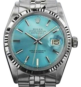 Rolex Rolex Oyster Perpetual Datejust Automatic Gold And Steel 1601 Mens 1972 Rx5079