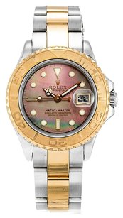 Rolex ROLEX YACHT-MASTER 169623 18K YELLOW GOLD AND STEEL LADIES WATCH
