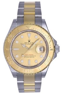 Rolex Rolex Yacht-Master Stainless Steel 18k Yellow Gold Automatic Watch 16623