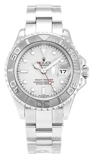 Rolex ROLEX YACHT-MASTER STAINLESS STEEL SILVER DIAL LADIES WATCH