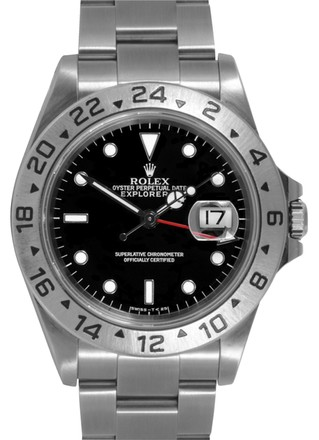 Preload https://item1.tradesy.com/images/rolex-silver-explorer-ii-stainless-steel-black-dial-men-s-watch-2702860-0-0.jpg?width=440&height=440