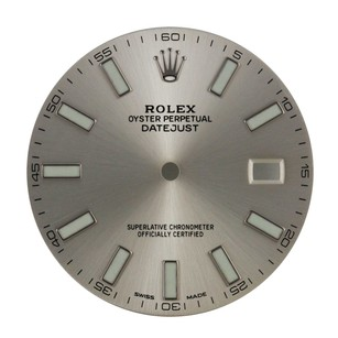 Rolex Original Rolex Silver Index Dial for 41mm Datejust II - DIAL Only-